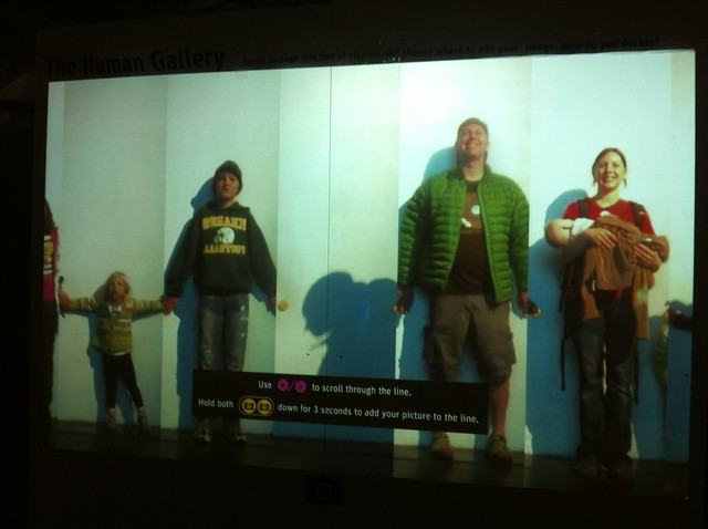 Family pic at the Exploratorium