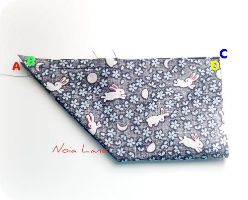 Tutorial: Grulla de tela estilo japonés 8
