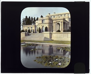 """Uplands,"" Charles Templeton Crocker house, 400 Uplands Drive, Hillsborough, California. (LOC)"