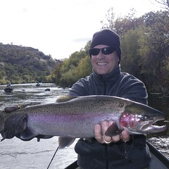 Mark with Klamath River Steelie