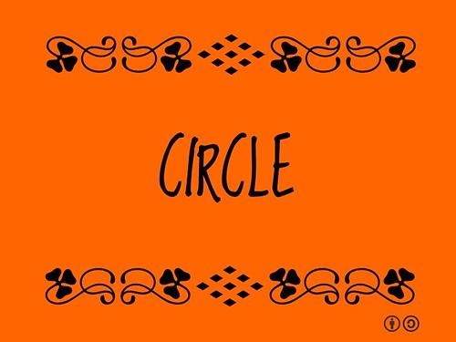 Buzzword Bingo: Circle