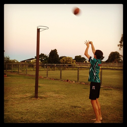 #fmsphotoaday apr28 {my Sunday} backyard basketball