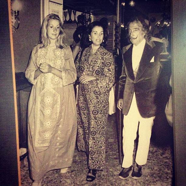 Salvador Dali and Gala were coming always to this restaurant to eat and to see his great friend and cook Lluis Duran.