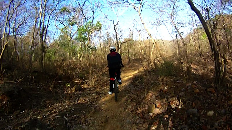 Yeoor Hills Offroad - Riding in the forest