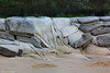 Collapsed Sandbag Revetment Belongil Beach, Byron Bay, North Coast, NSW - 22nd April 2013
