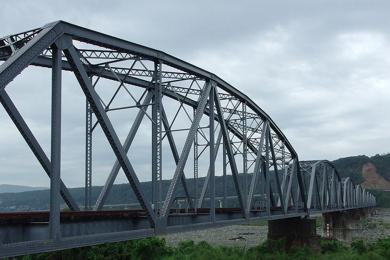 大安溪鐵橋 (花樑鋼橋)