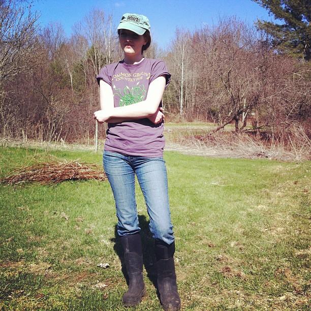 Farmer Olivia @oliviaconsiders