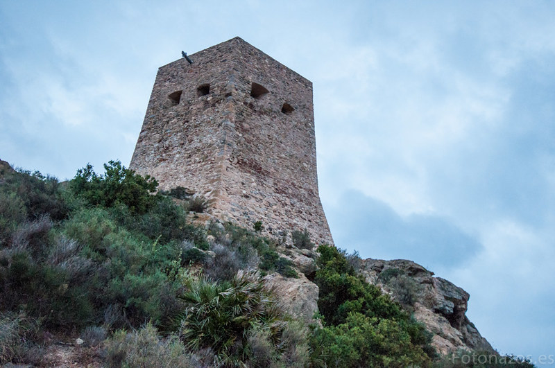 La Torre de Santa Elena en la Azohía