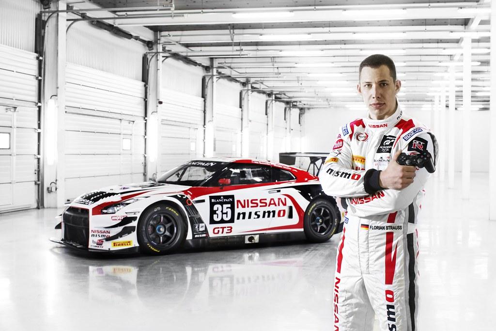 Florian Strauss GT-R GT3