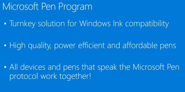 Microsoft Pen Program