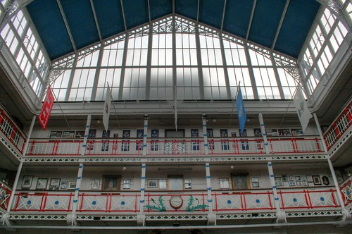 The drill hall - looking up