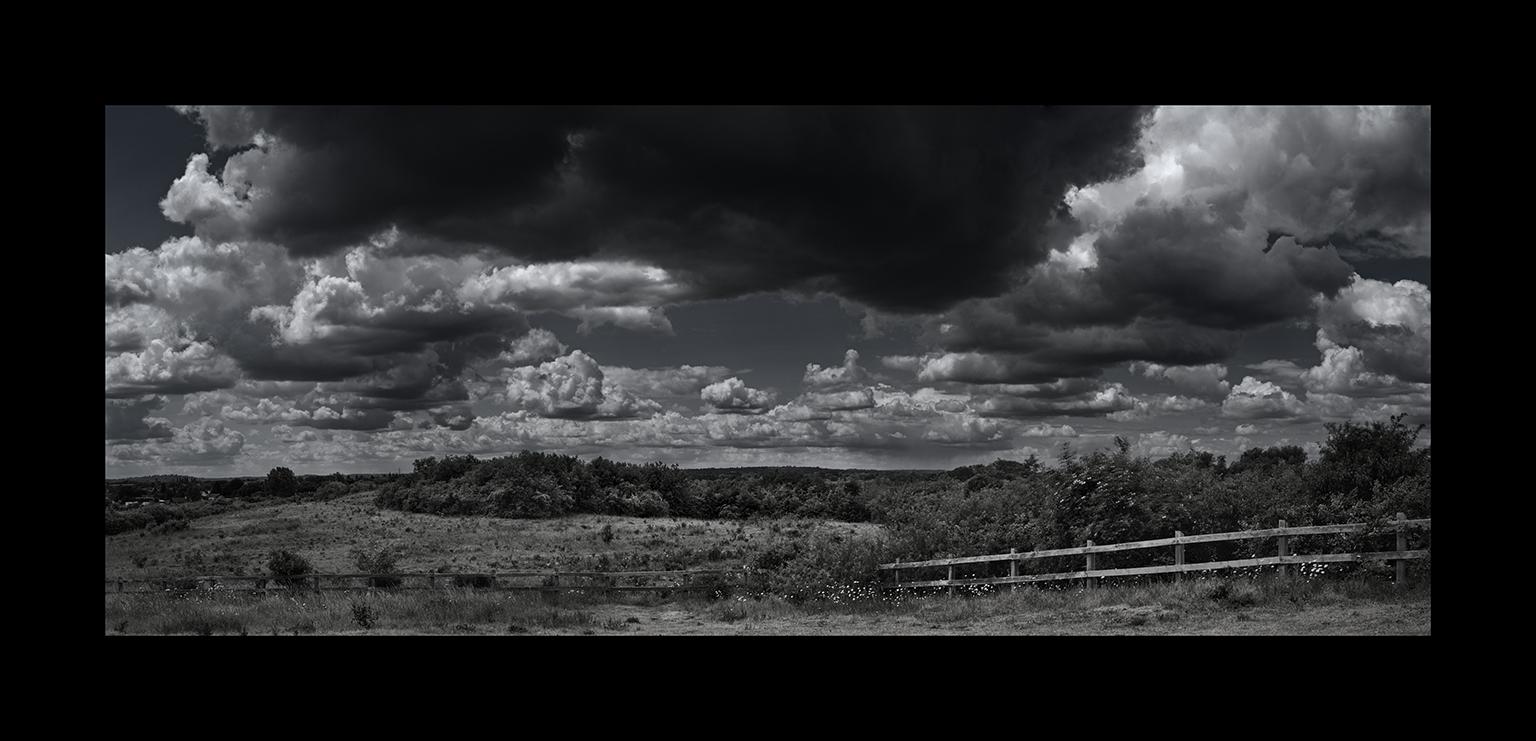 Cloudscapes: Bedfont Cumulus Panorama by Nicholas M Vivian