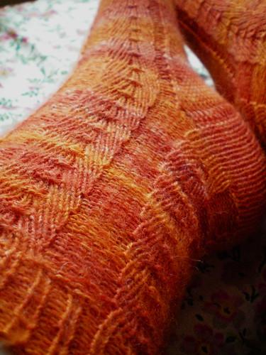 FO: Primavera socks