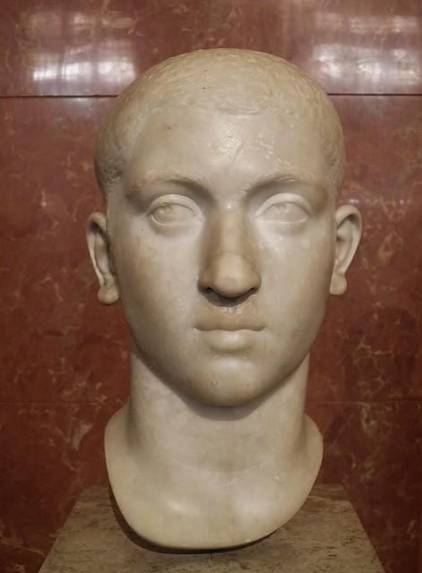 Bust of Alexander Severus (208-235), Louvre Museum