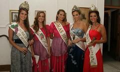 Mendoza: Las reinas recibieron certificados de capacitación