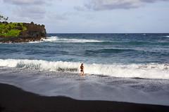 2012-02-10 02-19 Maui, Hawaii 529 Road to Hana, Wai'Anapanapa State Park, Beach
