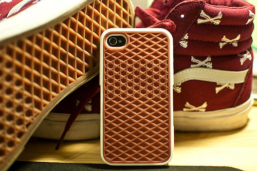 new concept c3f6f 157f8 iPhone Savior: Vans Waffle Sole iPhone Case Now Available