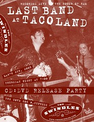 Last Band at Taco Land Flyer Mitch Webb