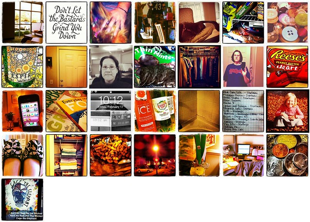 Instagram February 2012 Daily Photo Challenge