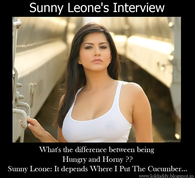 Sunny Leone Interview Funny