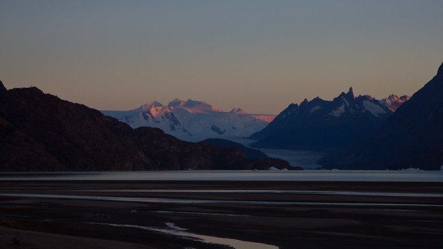 Glacier Grey at Sunrise