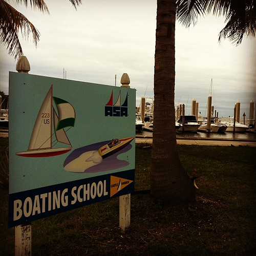 Boating School at Matheson