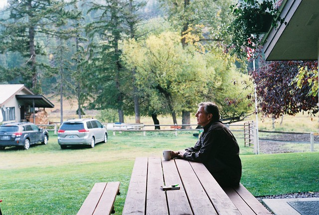 Dad, morning coffee in montana (2)