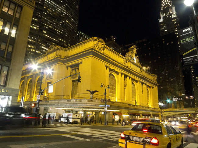 Grand Central at night