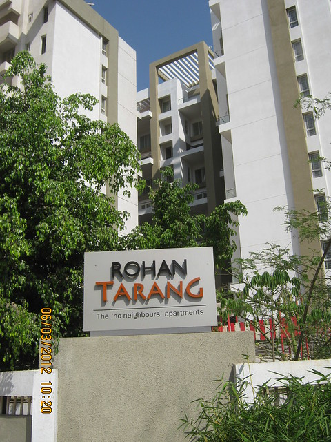 Rohan Tarang The 'No Neighbors' Apartments Wakad Pune 411 057