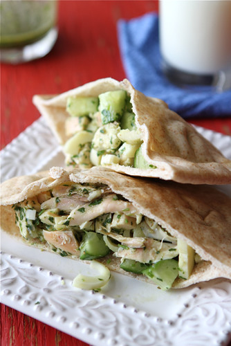 ... Pita Sandwich Recipe with Chicken, Hearts of Palm & Chimichurri