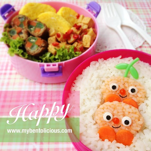 Happy Friends Bento