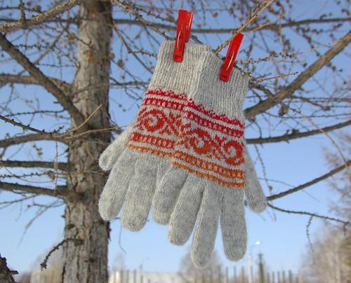 fairisle gloves 1