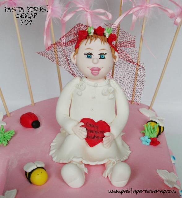 1ST BIRTHDAY CAKE- İPEK NUR