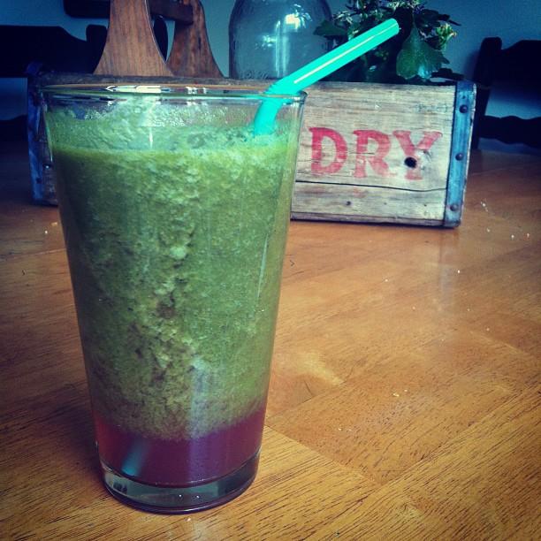 Funky greeeen juice!