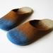 Glow-worm slippers by Ramune Toleikyte