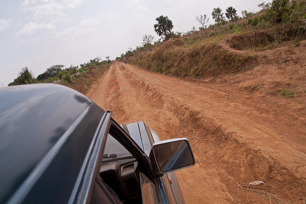 Mellom Uganda og Sudan