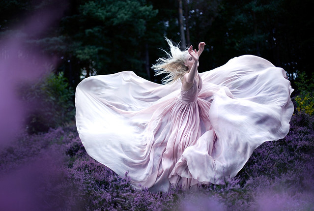Kirsty Mitchell - Wonderland  'While Nightingales wept'