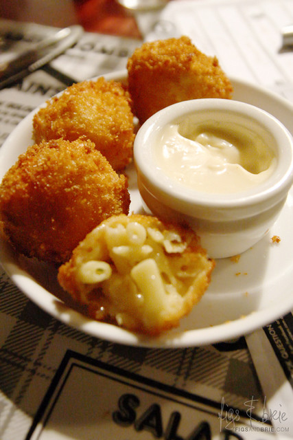 Mac n Cheese Balls, The Abercrombie