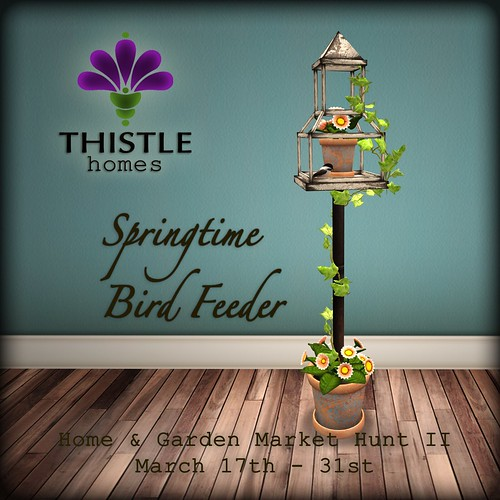 thistle bird feeder