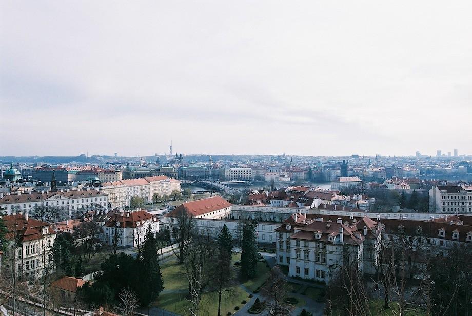 從布拉格城堡(Pražský hrad)遠眺