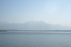 Alpenblick am Chiemsee