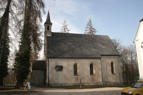 Ehem. Pfarrkirche St. Maria - Herreninsel - Seitenansicht