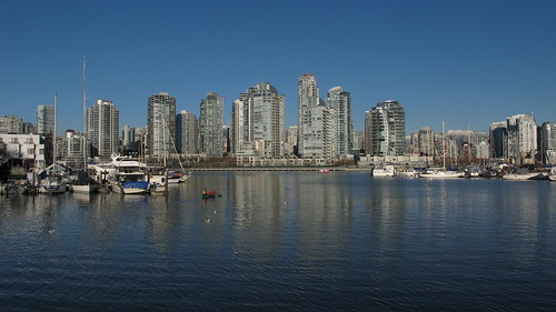 Downtown from South Shore False Creek 2