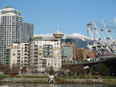 Downtown from South Shore False Creek 1