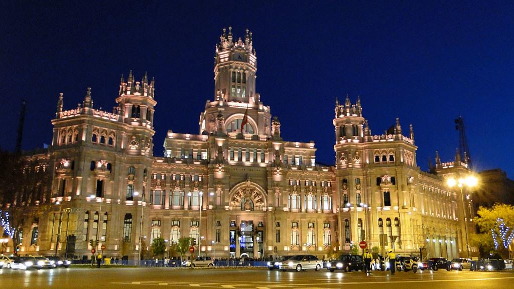 Palacio de comunicaciones madrid espa a a photo on - Montadores de pladur en madrid ...