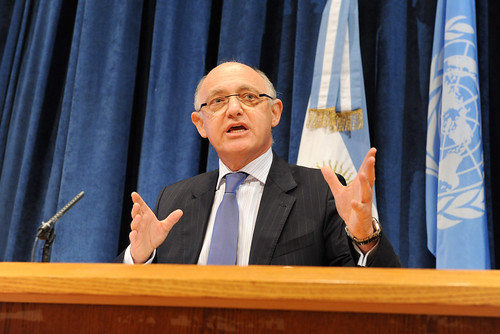 Foreign minister Héctor Timerman. (Photo by MRECIC ARG, on Flickr)