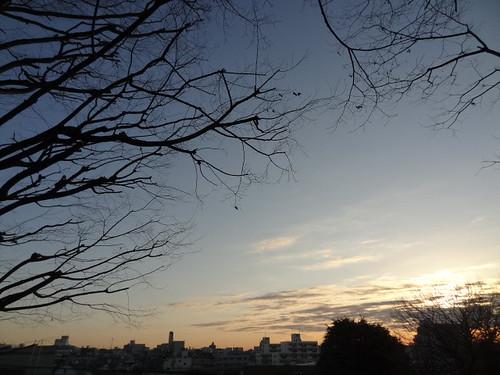 sky cloud japan tokyo shot daily ota eyefi dschx9v