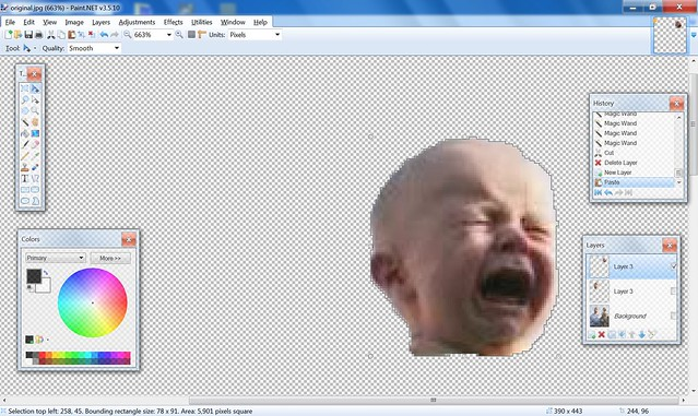 Step 2: Crying Baby