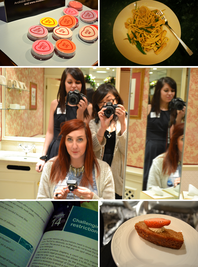 daisybutter - UK Style Blog: week in photos, london, blog events, mua cosmetics, teriyaki udon noodles
