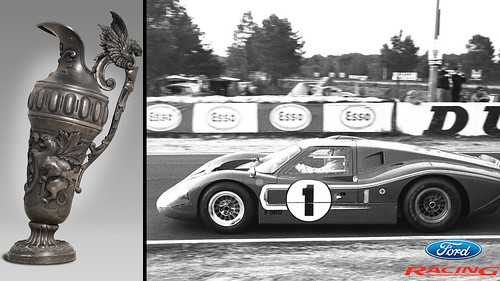 1967 Le Mans Victory by Ford Racing - Inside the Oval